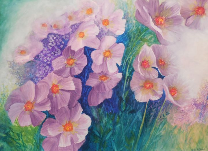 Wild flowers - K.D. Robbins fine art