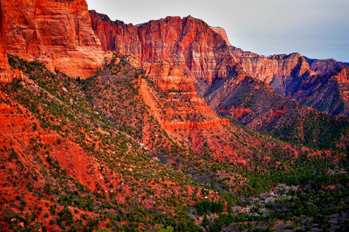 Kolob Canyon Cliffs 2 - Cummins Art