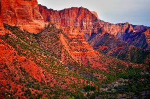 Kolob Canyon Cliffs 2
