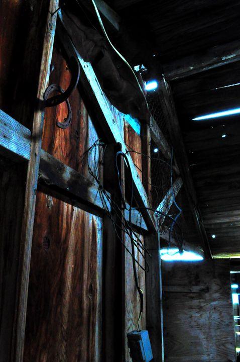 Backyard shed - Cummins Art