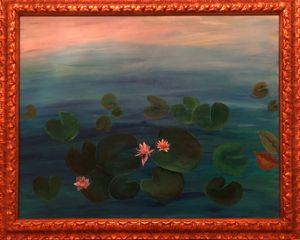 Water Lillies/ Acrylic