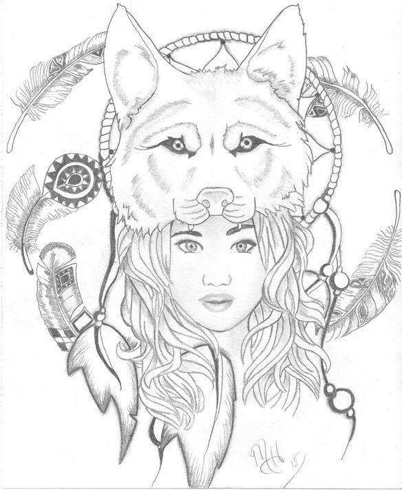 wolf 1 - Michelle Hunter