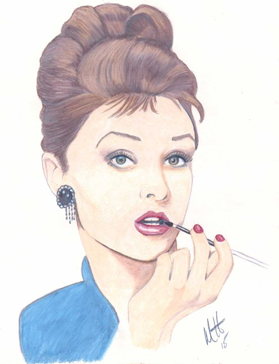Audrey Hepburn - Michelle Hunter