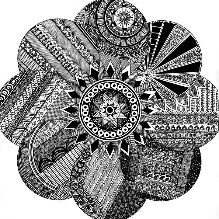 Mandala - Rohini's Art Gallery