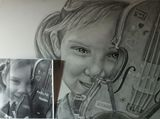 Custom Graphite Pencil Portrait
