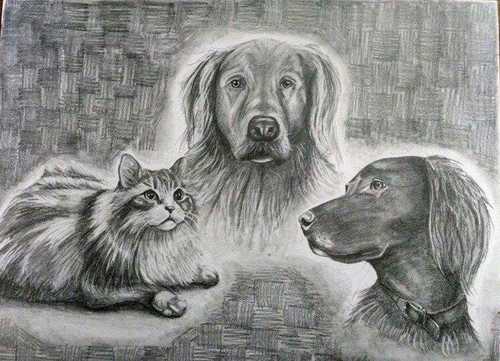 Loved Ones - Via Vitae Portrait and Illustration Studios