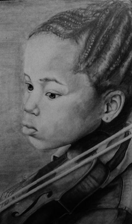 Mozart - Via Vitae Portrait and Illustration Studios