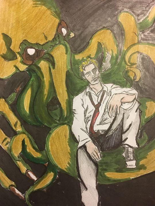 Constantine vs Cthulhu - Lauren Landry