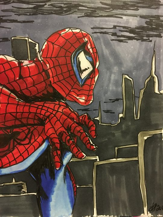 Spider man - Lauren Landry