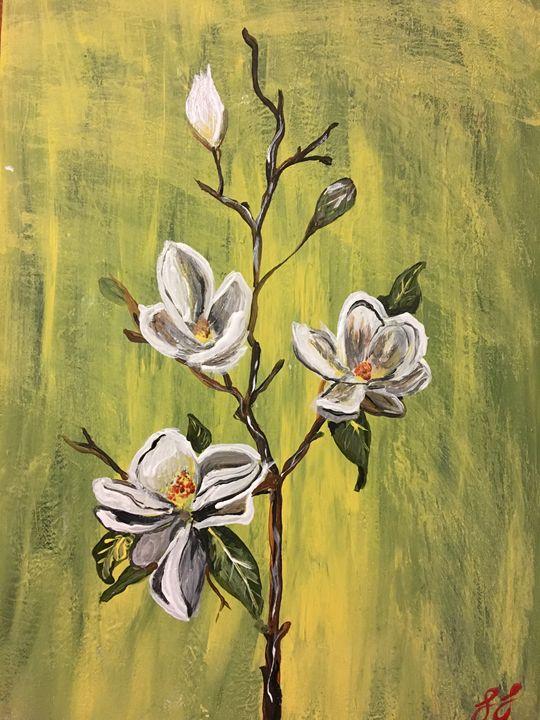 Magnolias - Lauren Landry