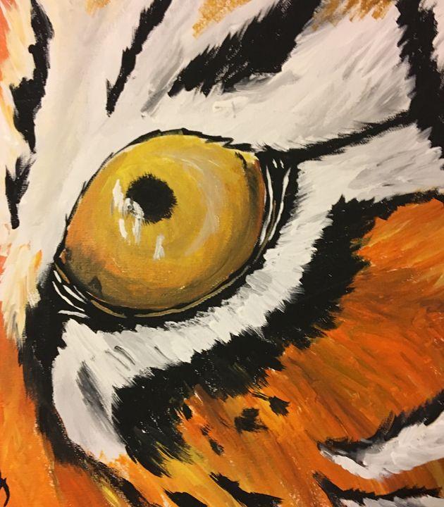 Tiger eye - Lauren Landry