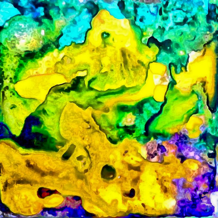 Abstract fluid art - Samartist250