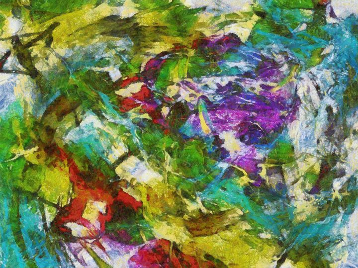 Abstract colors small size - Samartist250