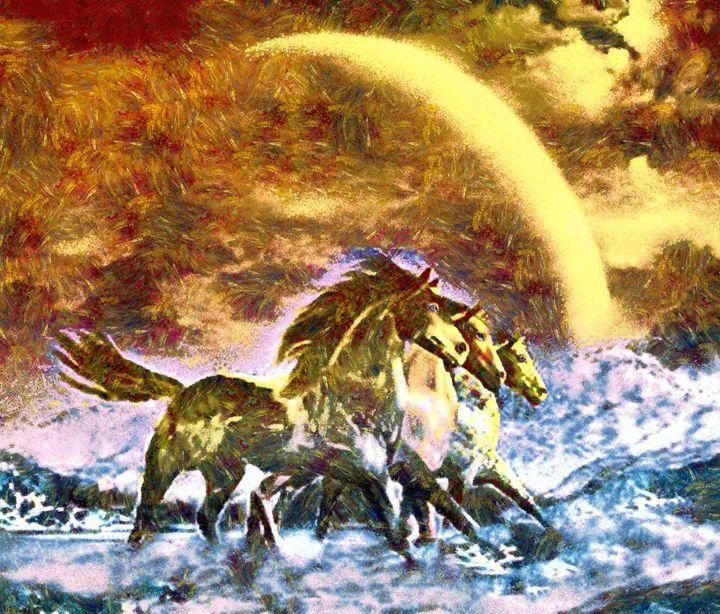 3 horses - Samartist250