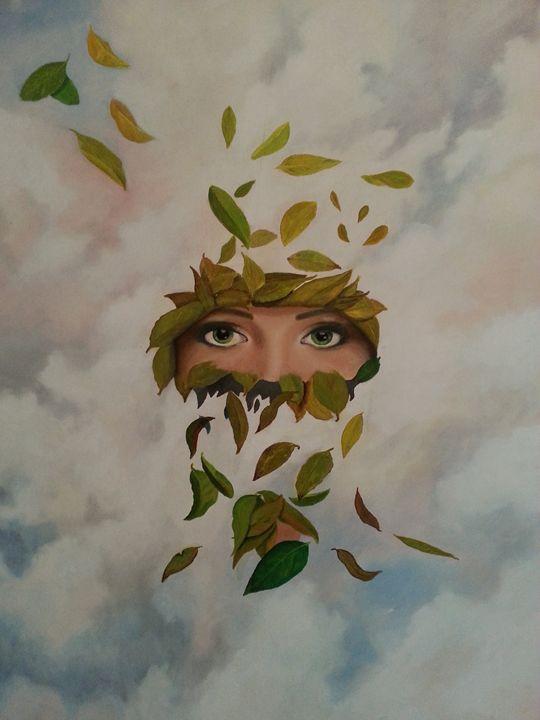 mujer del viento - Cristian F Frost.