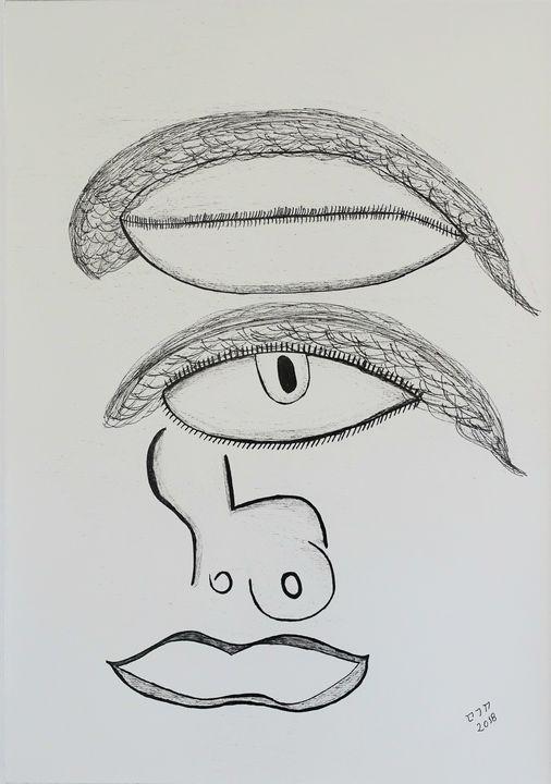 Picasso's eyes - セファス Artworks