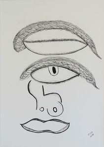 Picasso's eyes