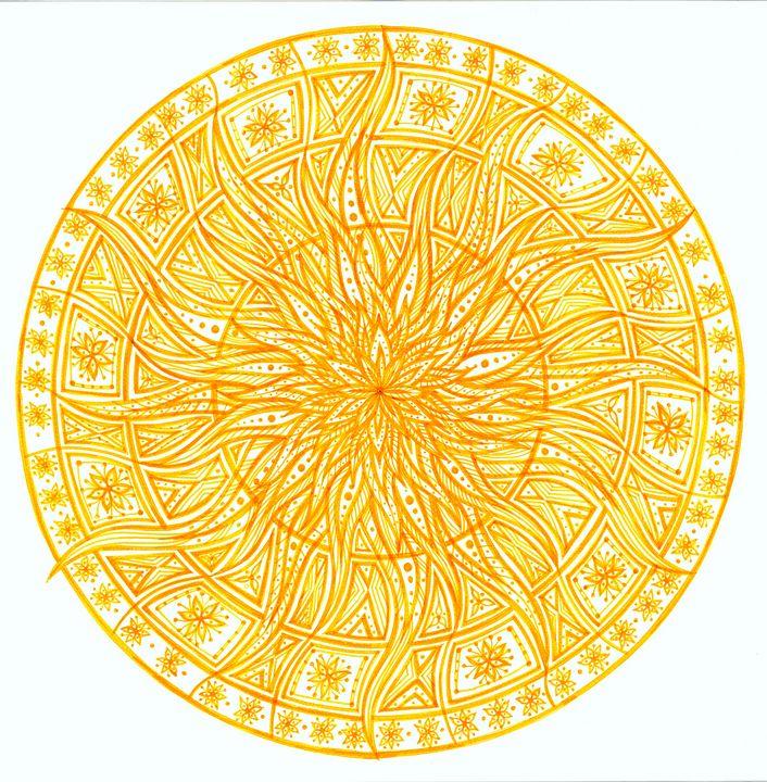 Solar plexus chakra  (Manipura) - Elena Soltuz