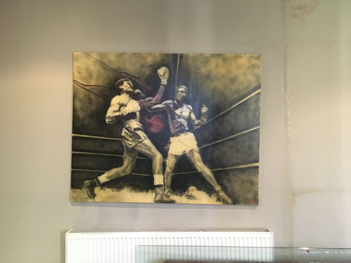 Boxers by Adam Bricusse - Boxing Art