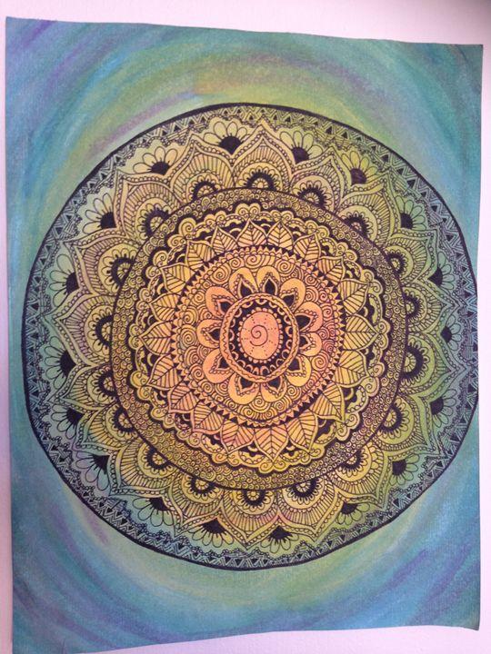 Rainbow Mandala - Sarisa Mendal