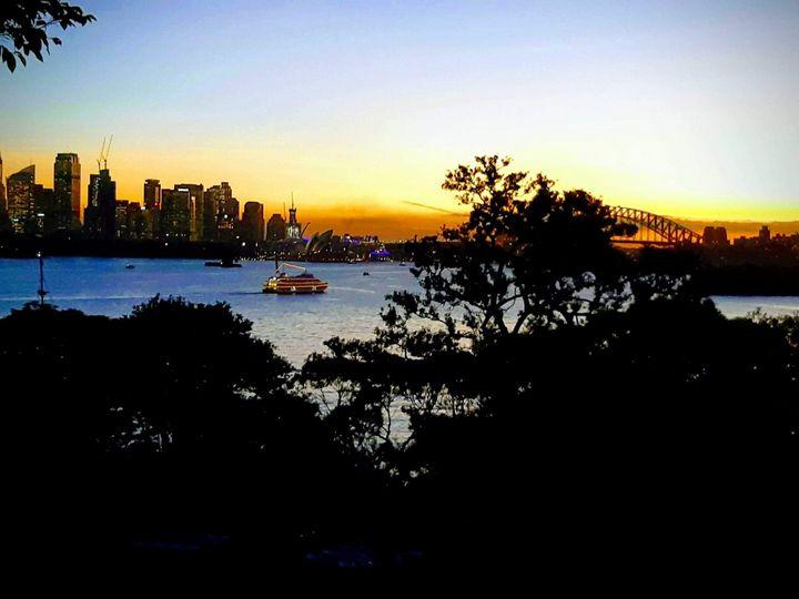Sydney Harbor at dusk - Maxxams