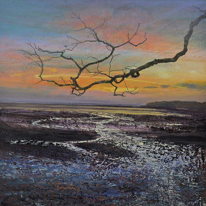 TREE AND BEACH - KEVAN MCGINTY