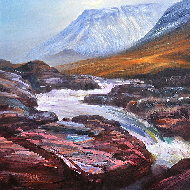 RIVER ETIVE SERIES: WINTER FLOW - KEVAN MCGINTY