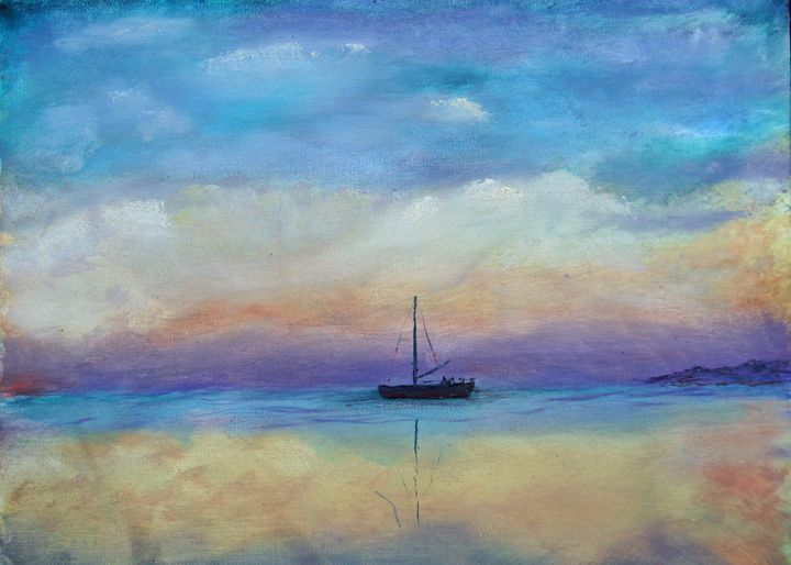 A Beautiful Day For Sailing - Avis Reid