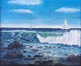 73cm x 63cm Original Oil Painting