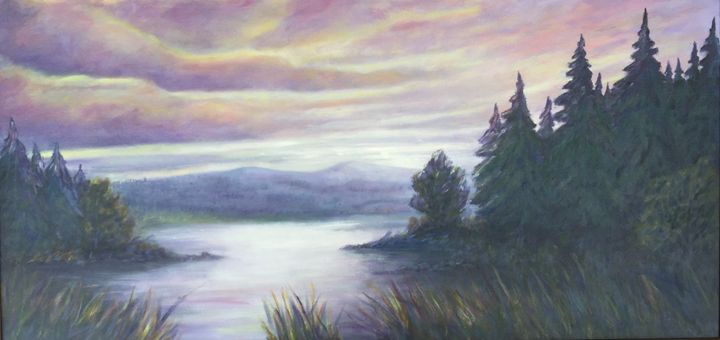 Canada Sunset - Dorothy Hollings