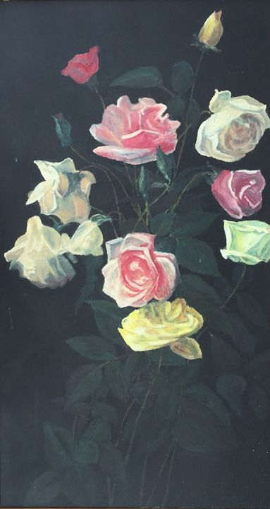 Roses-an oldfashioned look - Dorothy Hollings