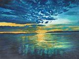 100cm x 85cm Original Oil Painting