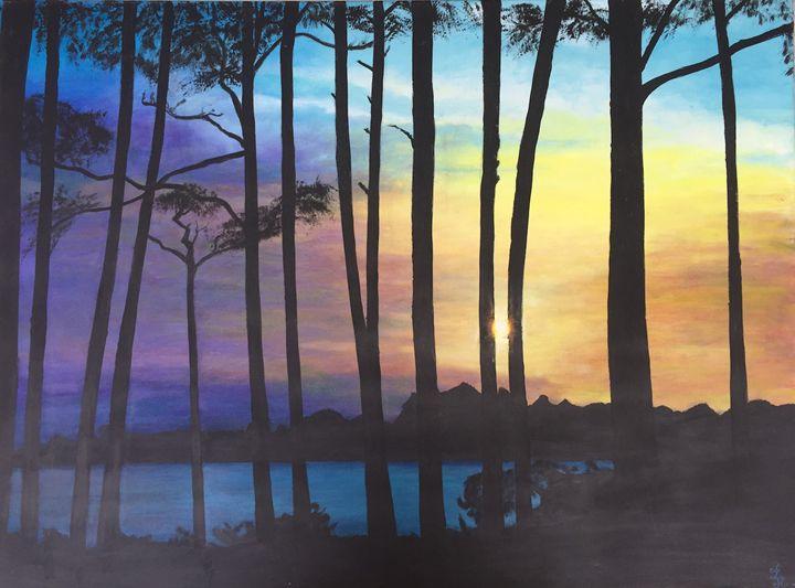 Sunset - Dorothy Hollings