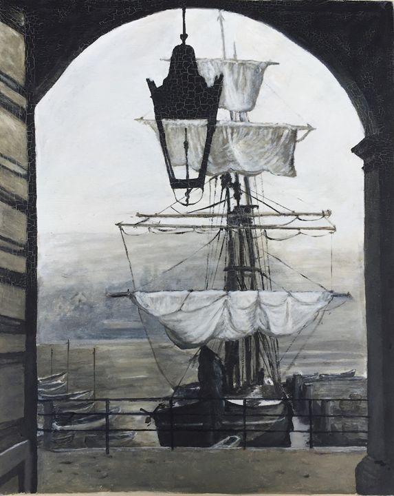 Dockside 1800's - Dorothy Hollings