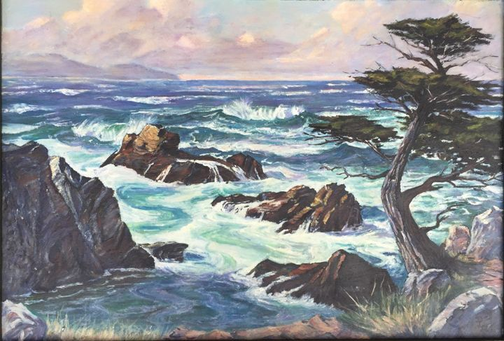 Coastal New Zealand - Dorothy Hollings