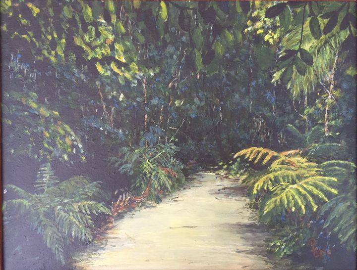 Fraser Island Creek - Dorothy Hollings