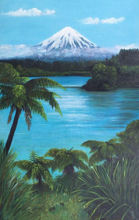 Mount Taranaki - New Zealand - Dorothy Hollings