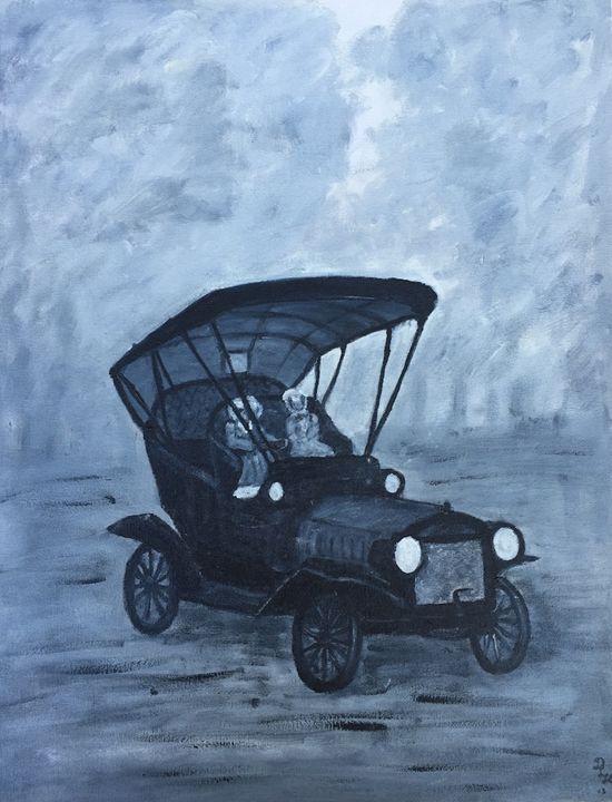 Olde Car - Dorothy Hollings