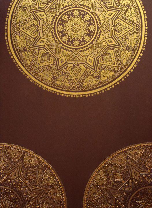 Shamsa design - Marya Art Works