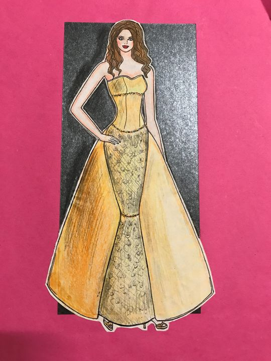 Beauty & the beast gown - Fashion decor