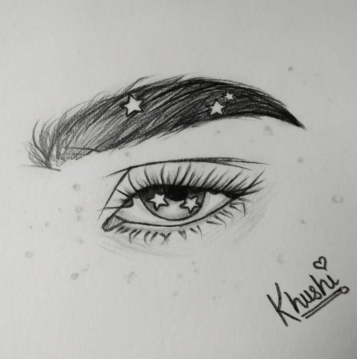 Galactic eye - Art adict khushi