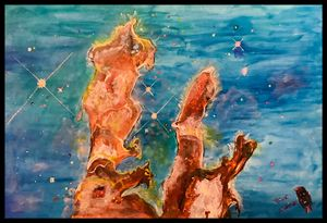 Pillars of Creation - Roberts Art