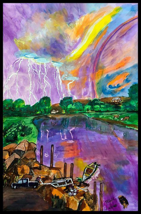 Storms Coming - Roberts Art