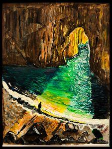 Hidden Cavern - Roberts Art