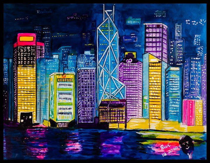 City Lights - Roberts Art