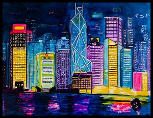 City Lights - Roberts Art