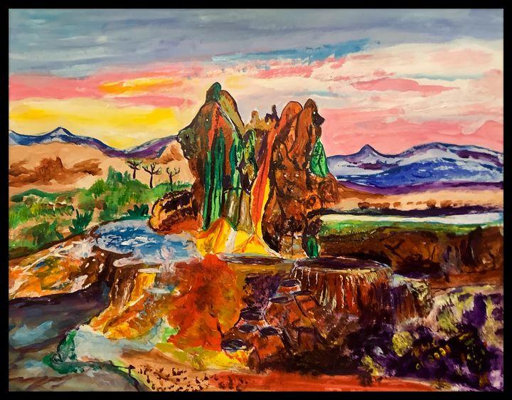 Natures Pool - Roberts Art