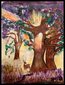 Sun Tree - Roberts Art