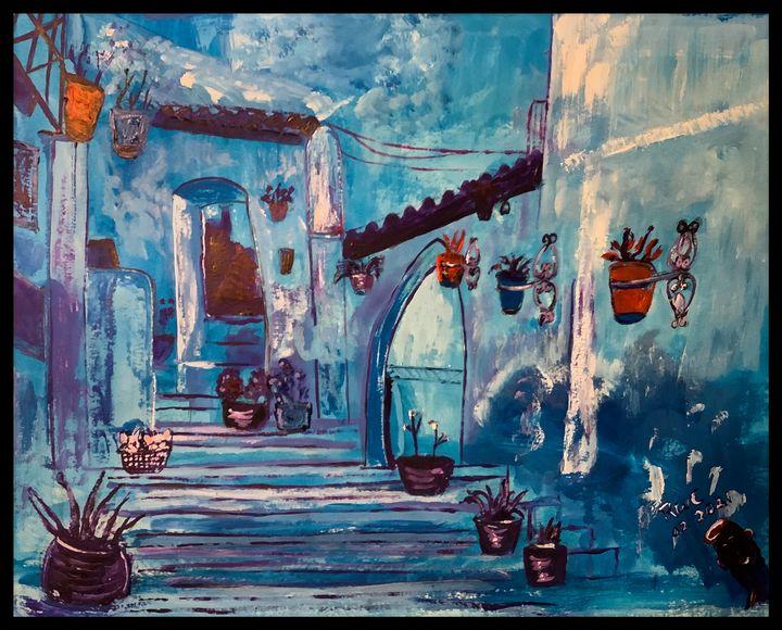 Shades of Blue - Roberts Art