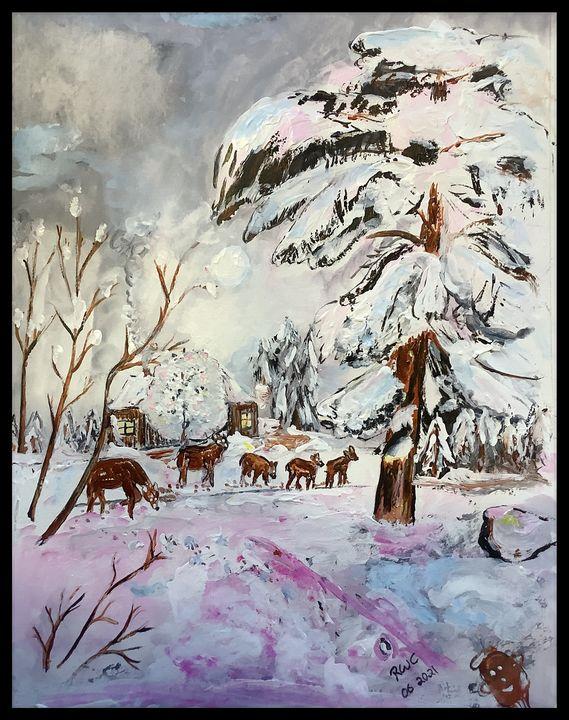 Winter's Calm - Roberts Art